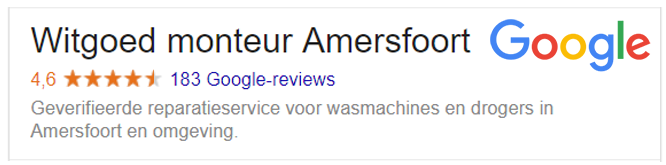 reparatie wasmachine amersfoort
